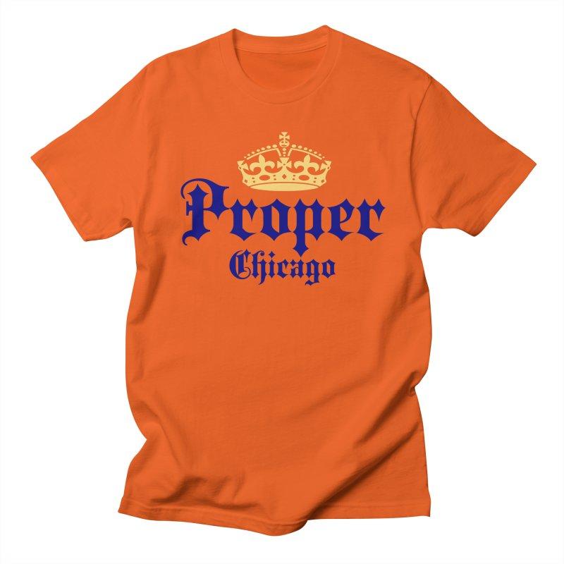 Proper Men's T-Shirt by Properchicago's Shop