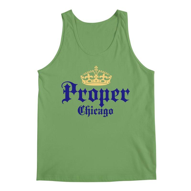 Proper Men's Tank by Properchicago's Shop