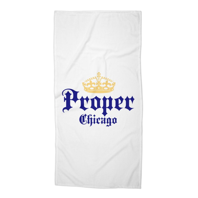 Proper Accessories Beach Towel by Properchicago's Shop