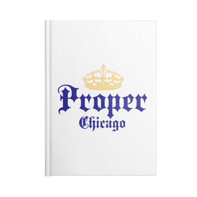 Proper Accessories Notebook by Properchicago's Shop