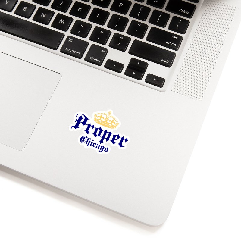 Proper Accessories Sticker by Properchicago's Shop