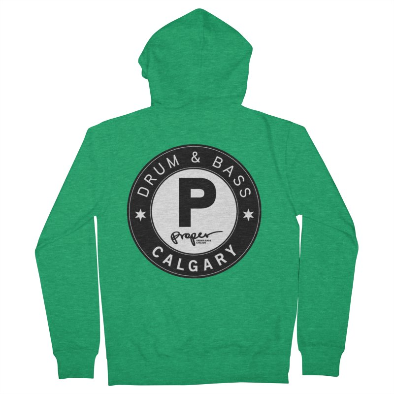 Proper CALGARY Men's Zip-Up Hoody by Properchicago's Shop