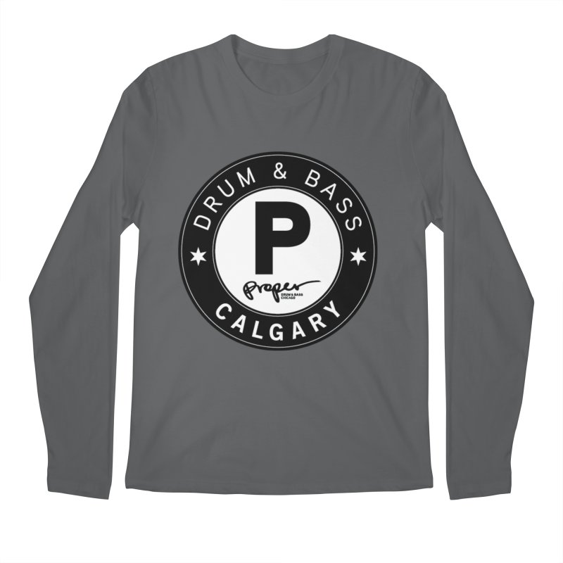 Proper CALGARY Men's Longsleeve T-Shirt by Properchicago's Shop