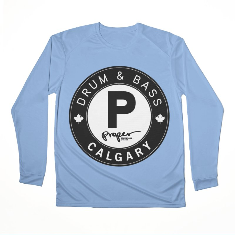 PROPER CALGARY (Maple Leaf) Women's Longsleeve T-Shirt by Properchicago's Shop