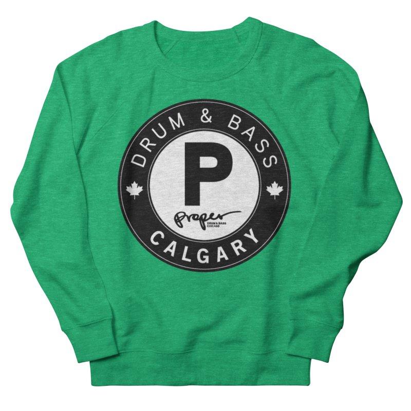 PROPER CALGARY (Maple Leaf) Women's Sweatshirt by Properchicago's Shop