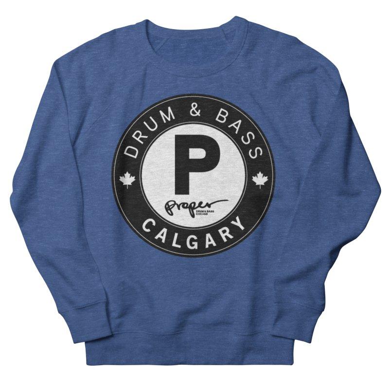 PROPER CALGARY (Maple Leaf) Men's Sweatshirt by Properchicago's Shop
