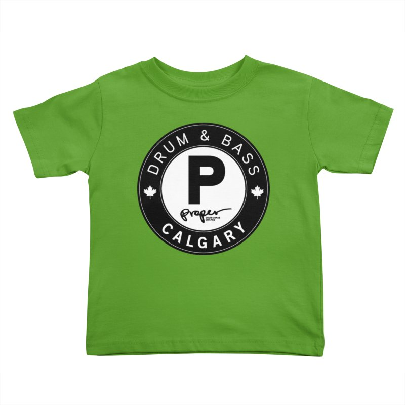 PROPER CALGARY (Maple Leaf) Kids Toddler T-Shirt by Properchicago's Shop