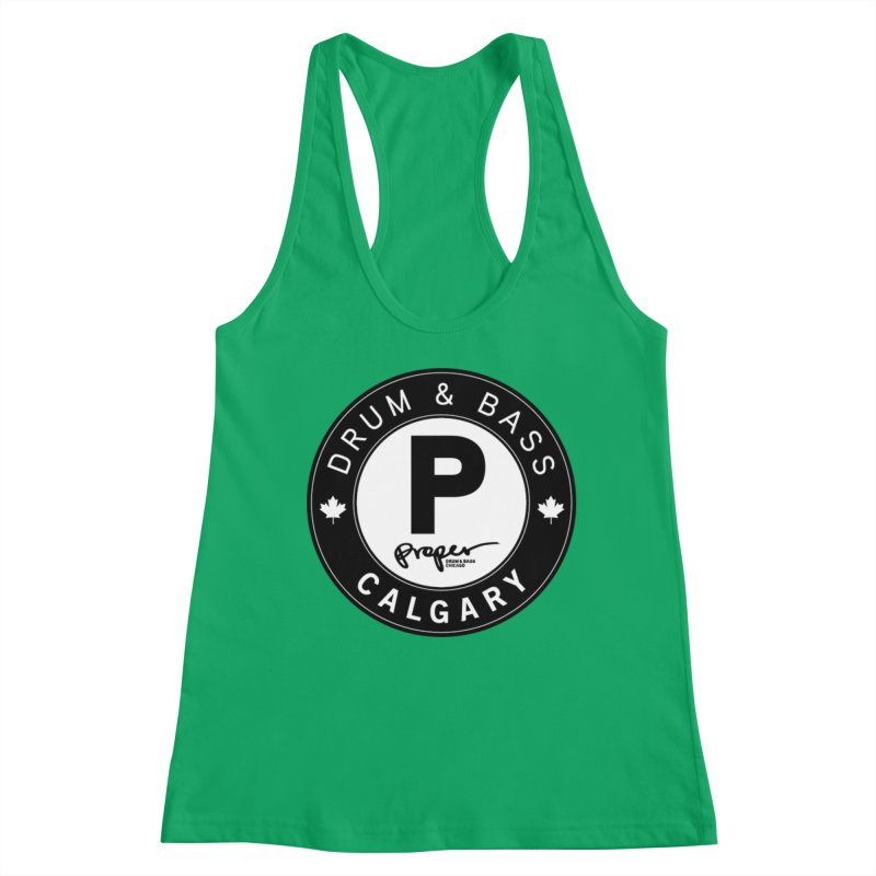 PROPER CALGARY (Maple Leaf) Women's Tank by Properchicago's Shop
