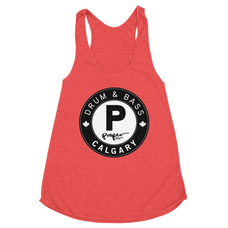 PROPER CALGARY (Maple Leaf) Women's Tank by Properchicago's Shop