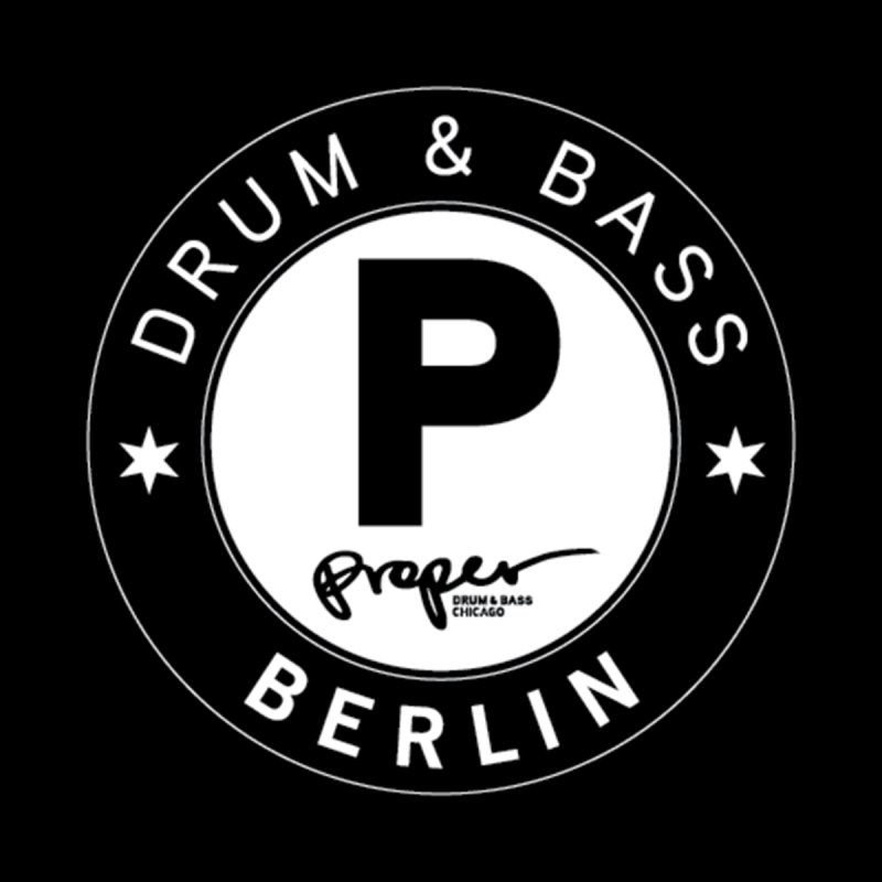 PROPER BERLIN Men's Longsleeve T-Shirt by Properchicago's Shop