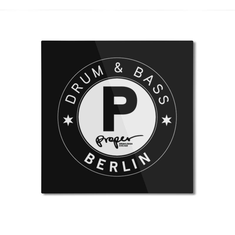PROPER BERLIN Home Mounted Aluminum Print by Properchicago's Shop