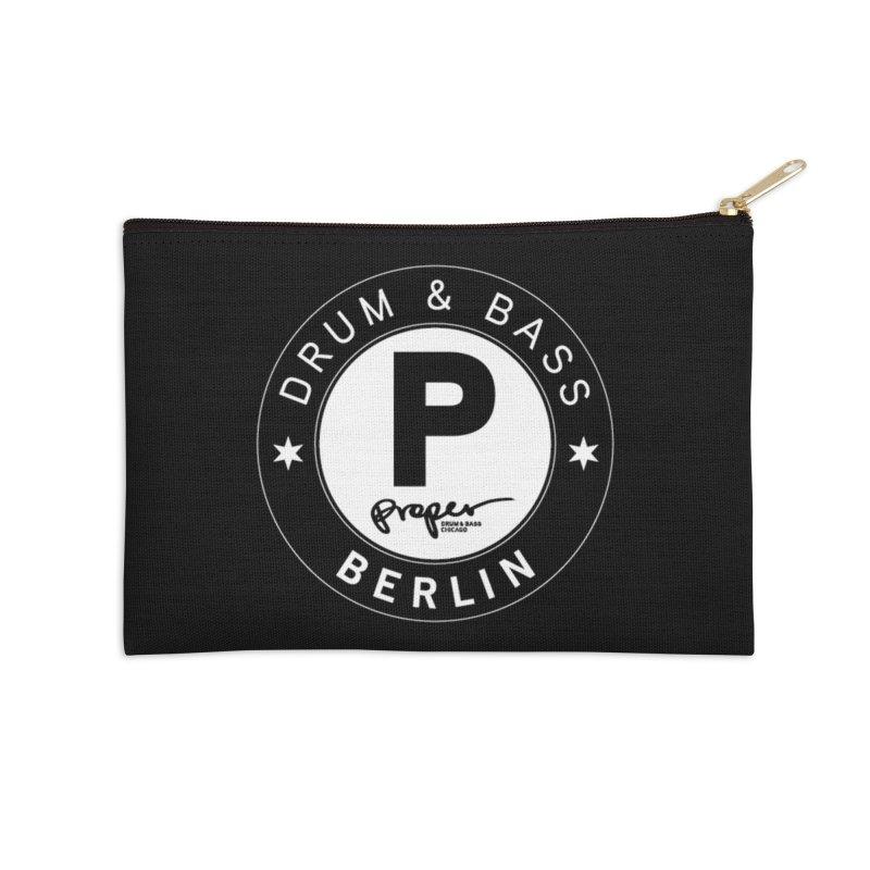 PROPER BERLIN Accessories Zip Pouch by Properchicago's Shop
