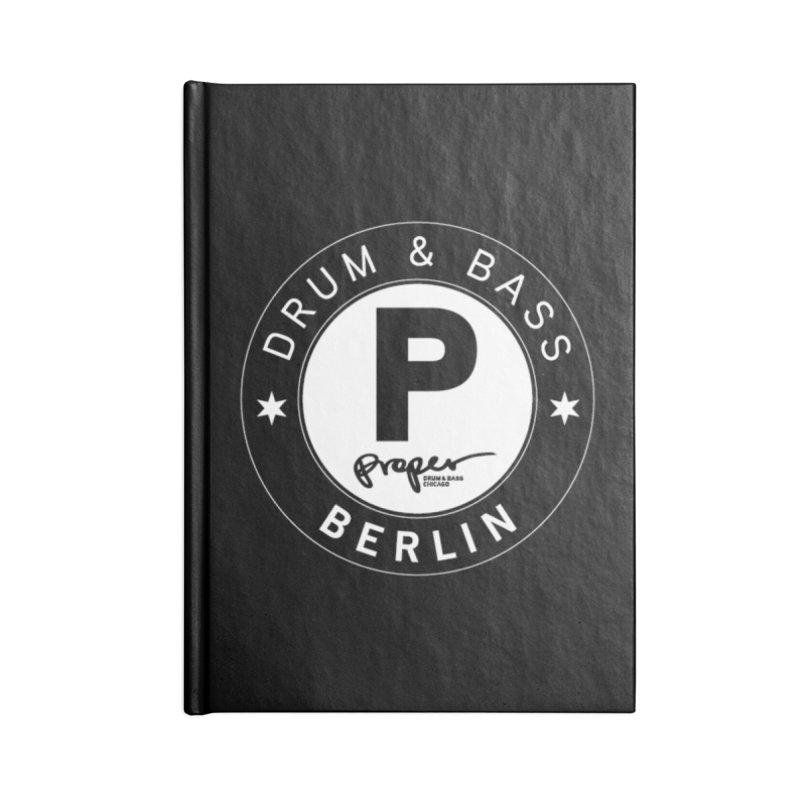 PROPER BERLIN Accessories Notebook by Properchicago's Shop