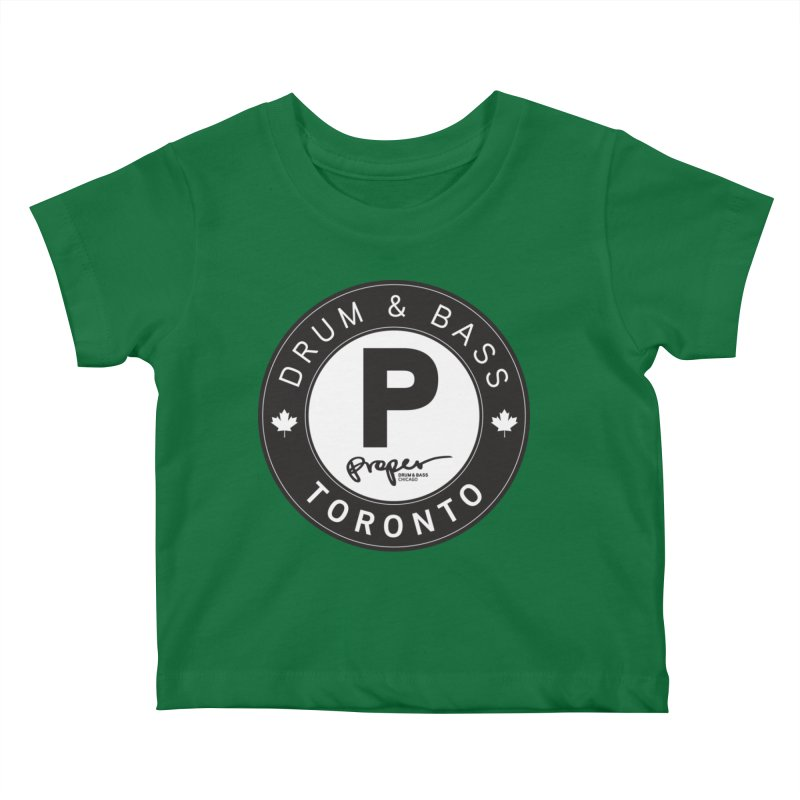 Proper TORONTO (Maple Leaf) Kids Baby T-Shirt by Properchicago's Shop