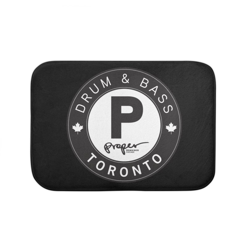 Proper TORONTO (Maple Leaf) Home Bath Mat by Properchicago's Shop