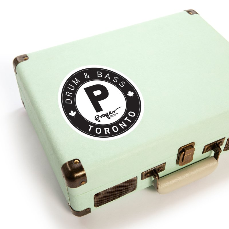 Proper TORONTO (Maple Leaf) Accessories Sticker by Properchicago's Shop