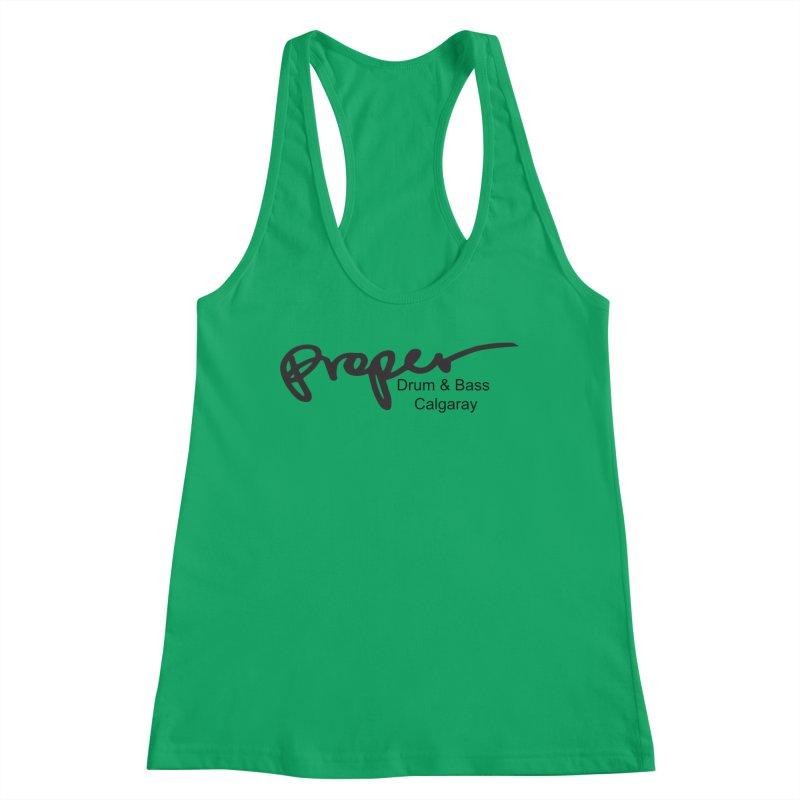 Proper OG Logo CALGARAY (white) Women's Tank by Properchicago's Shop