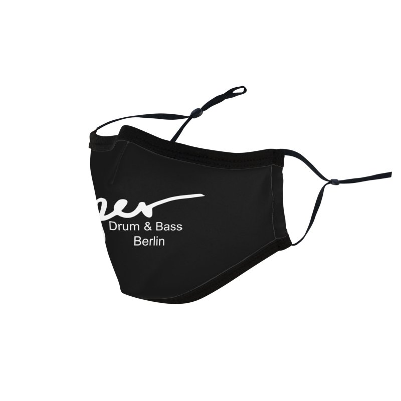 Proper OG Logo BERLIN (white) Accessories Face Mask by Properchicago's Shop