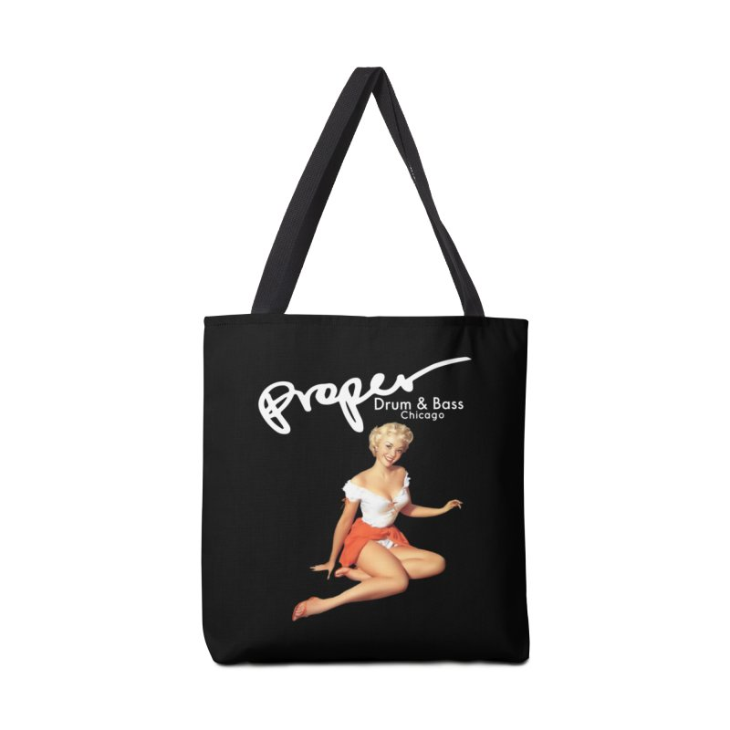 Proper Pin Up Accessories Tote Bag Bag by Properchicago's Shop