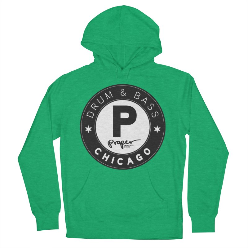 Proper logo Women's French Terry Pullover Hoody by Properchicago's Shop