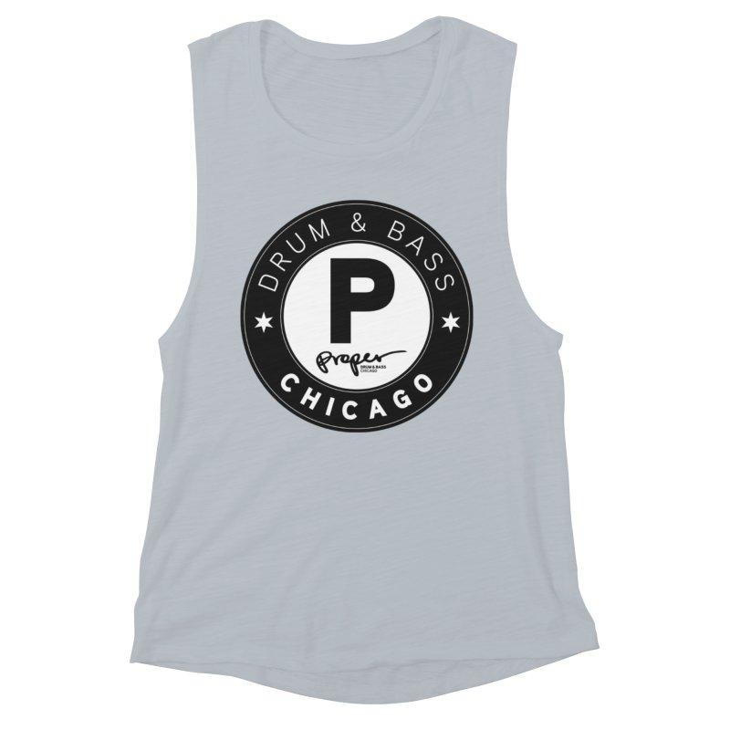 Proper logo Women's Muscle Tank by Properchicago's Shop