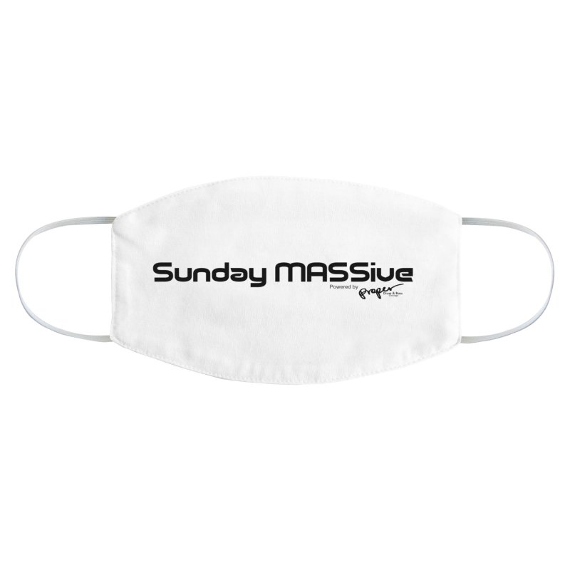 Sunday MASSive Accessories Face Mask by Properchicago's Shop