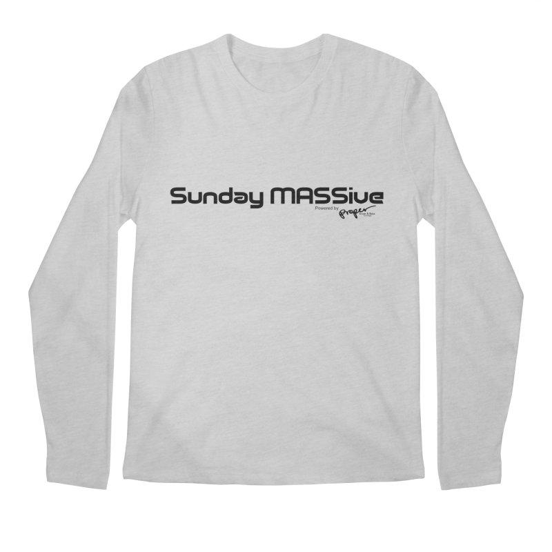 Sunday MASSive Men's Regular Longsleeve T-Shirt by Properchicago's Shop