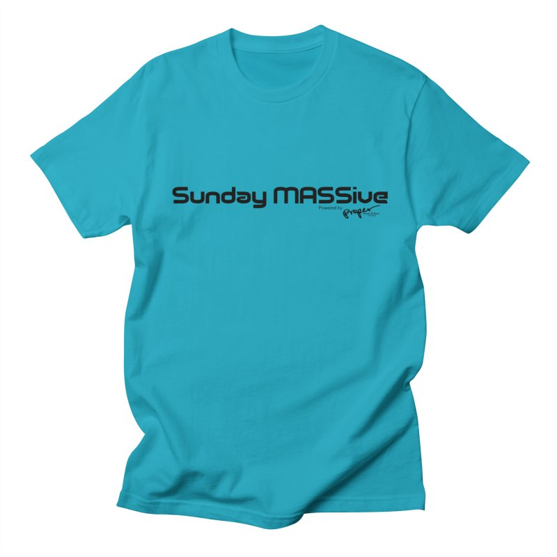 Sunday MASSive Men's Regular T-Shirt by Properchicago's Shop
