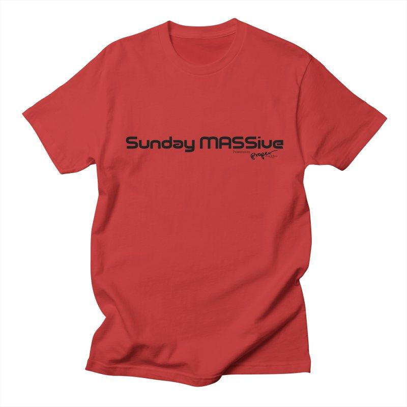 Sunday MASSive Women's Regular Unisex T-Shirt by Properchicago's Shop