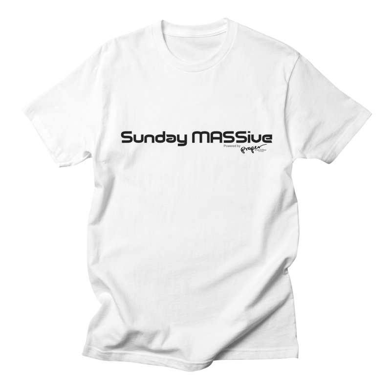 Sunday MASSive Men's Regular T-Shirt by Properchicago's Shop