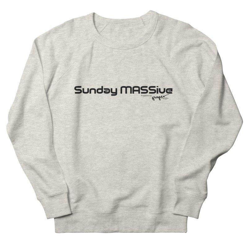 Sunday MASSive Women's French Terry Sweatshirt by Properchicago's Shop