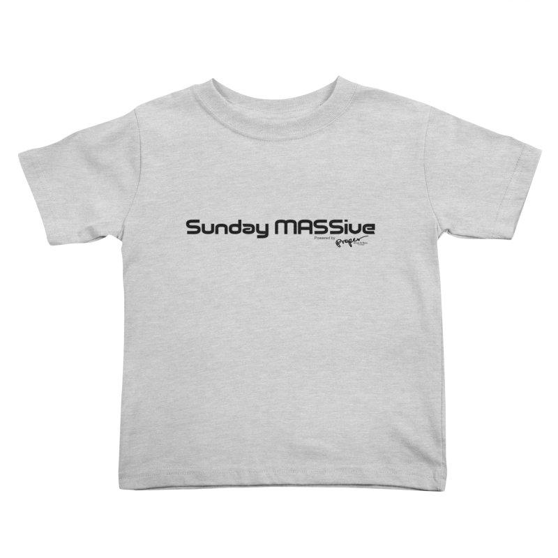 Sunday MASSive Kids Toddler T-Shirt by Properchicago's Shop