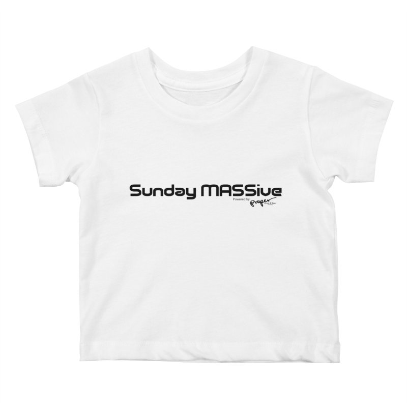 Sunday MASSive Kids Baby T-Shirt by Properchicago's Shop