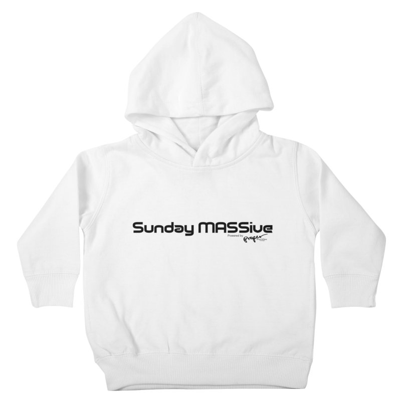 Sunday MASSive Kids Toddler Pullover Hoody by Properchicago's Shop