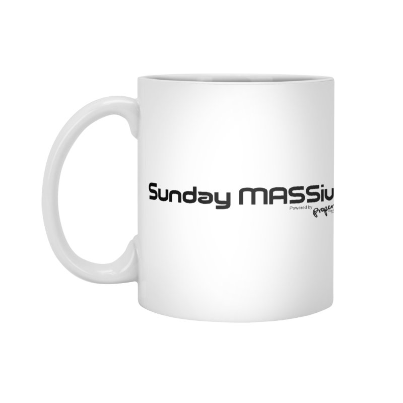 Sunday MASSive Accessories Standard Mug by Properchicago's Shop