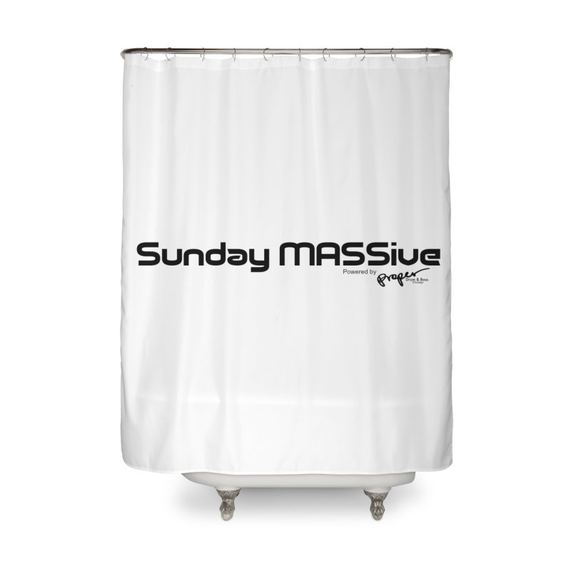 Sunday MASSive Home Shower Curtain by Properchicago's Shop