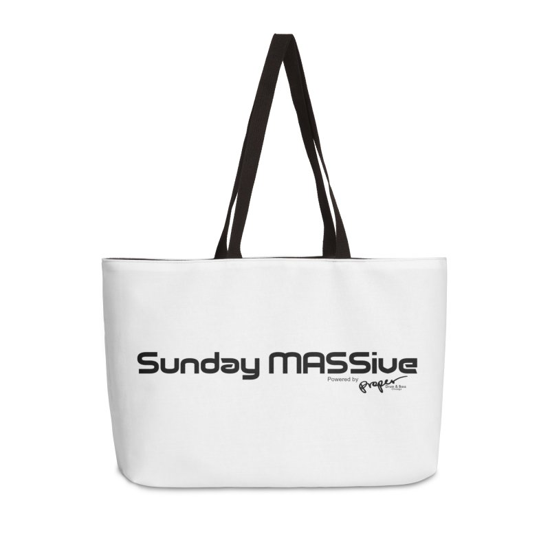 Sunday MASSive Accessories Weekender Bag Bag by Properchicago's Shop