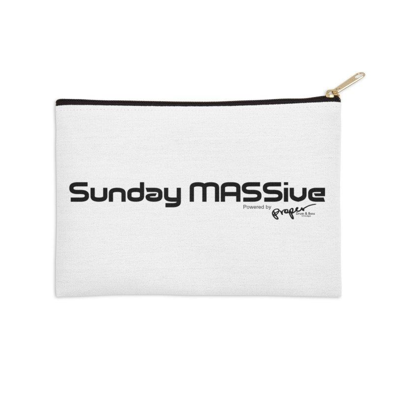 Sunday MASSive Accessories Zip Pouch by Properchicago's Shop
