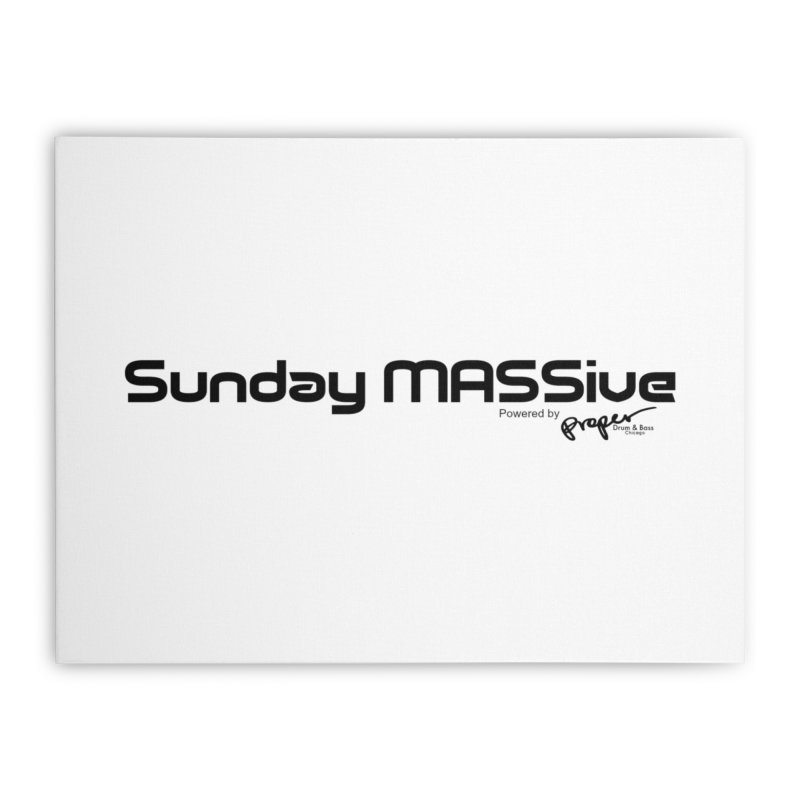 Sunday MASSive Home Stretched Canvas by Properchicago's Shop