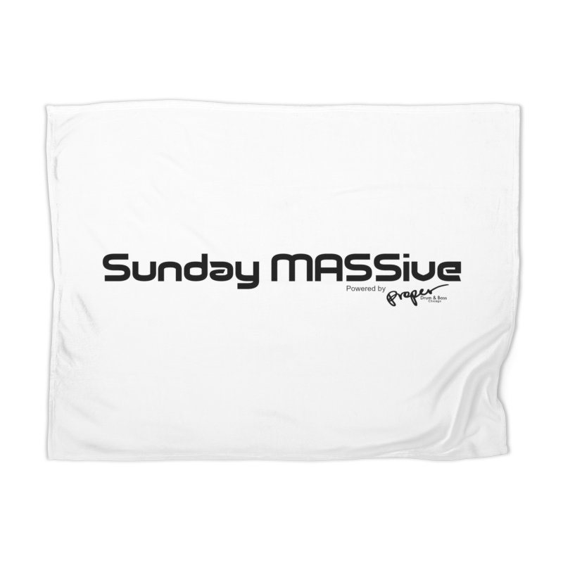 Sunday MASSive Home Blanket by Properchicago's Shop