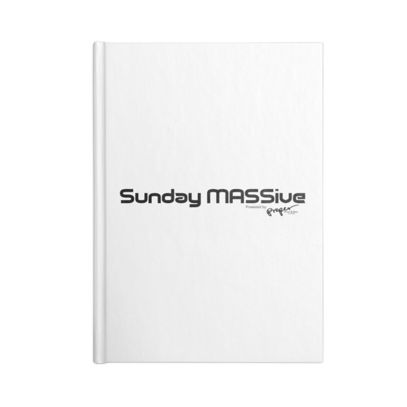 Sunday MASSive Accessories Blank Journal Notebook by Properchicago's Shop