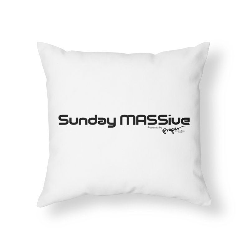 Sunday MASSive Home Throw Pillow by Properchicago's Shop
