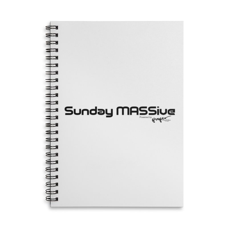 Sunday MASSive Accessories Lined Spiral Notebook by Properchicago's Shop