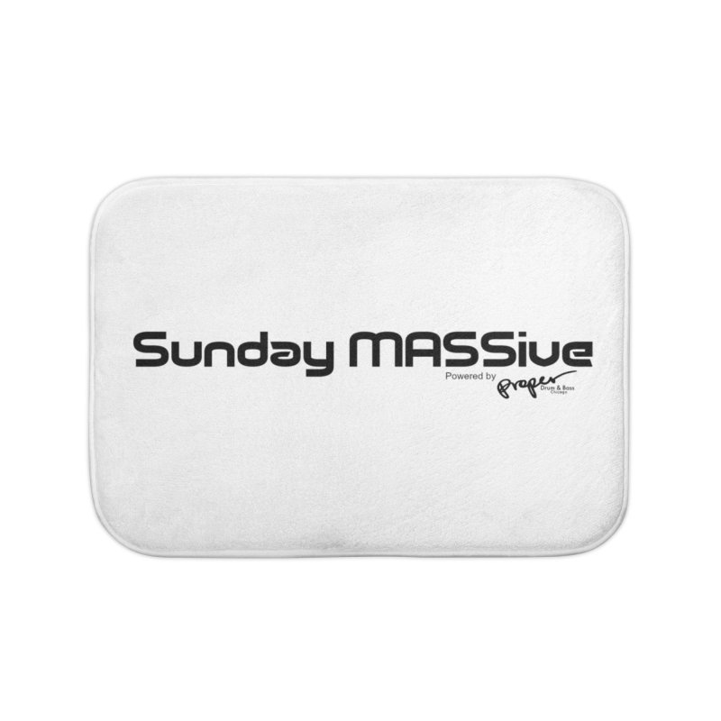 Sunday MASSive Home Bath Mat by Properchicago's Shop