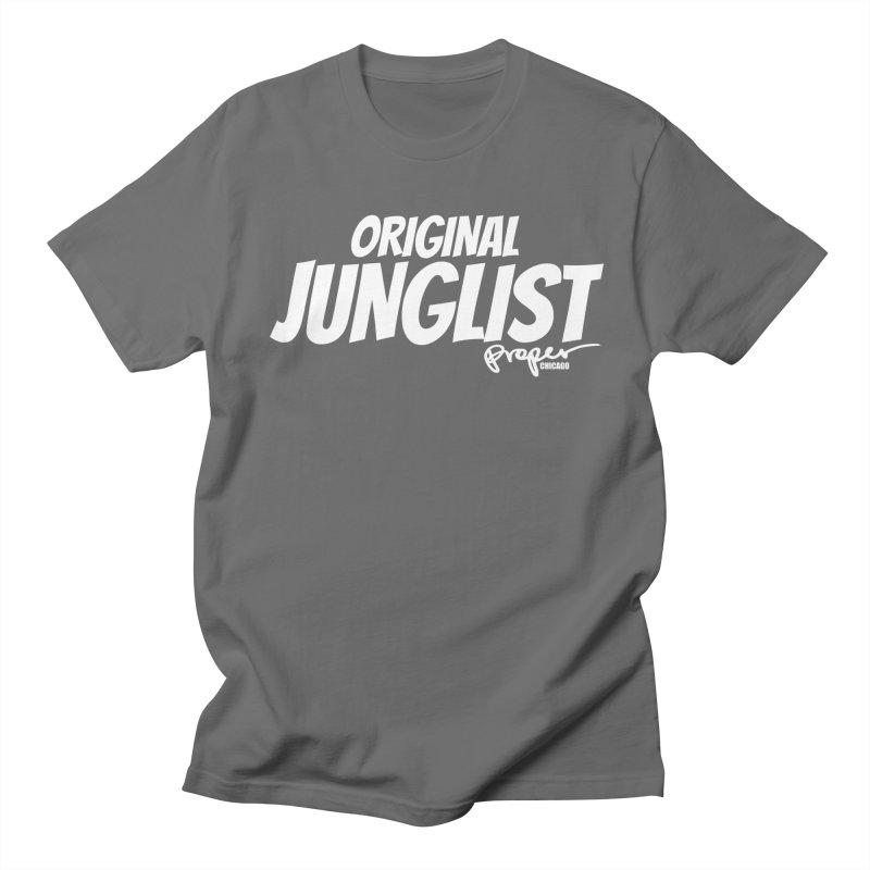 OG JUNGLIST Men's T-Shirt by Properchicago's Shop