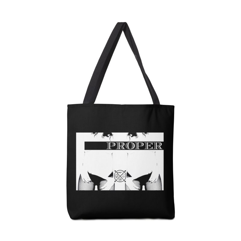 Proper girl Photo by Ben Baez Accessories Tote Bag Bag by Properchicago's Shop