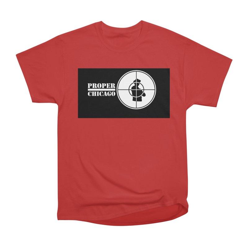 Proper Public Women's Heavyweight Unisex T-Shirt by Properchicago's Shop