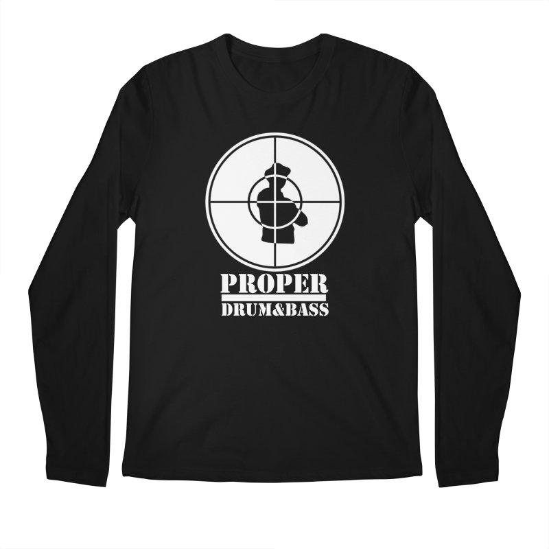 Public Wht Men's Regular Longsleeve T-Shirt by Properchicago's Shop
