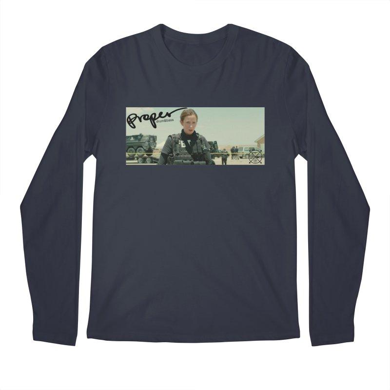 Scario Proper 2 Men's Regular Longsleeve T-Shirt by Properchicago's Shop