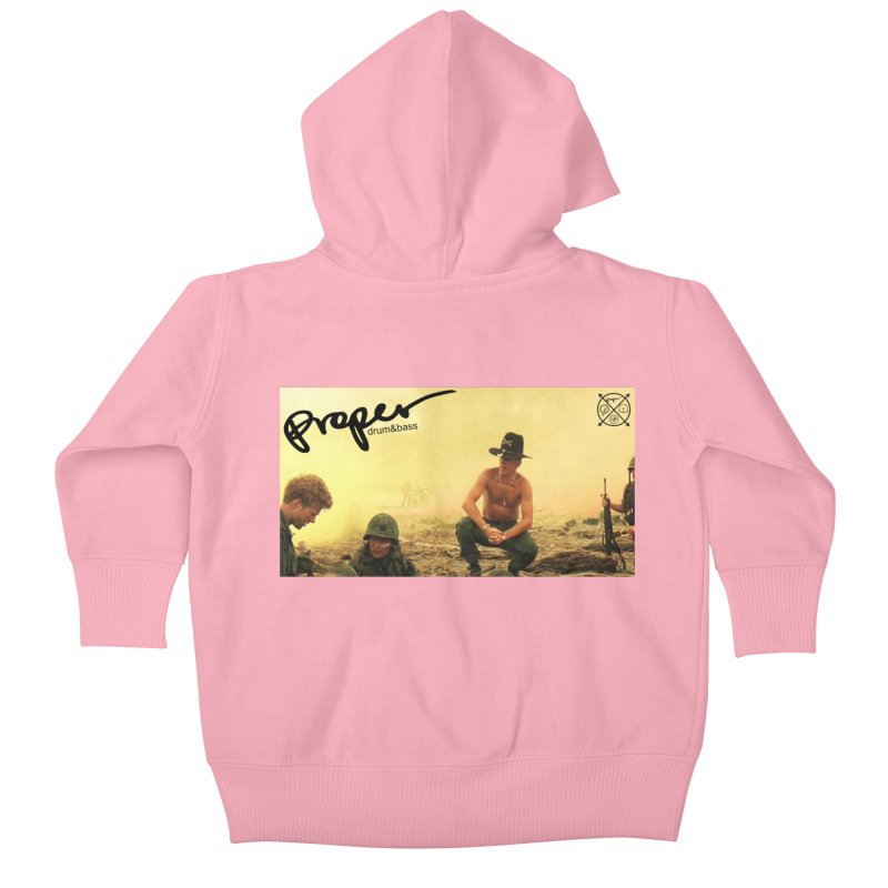 Apnow! Kids Baby Zip-Up Hoody by Properchicago's Shop